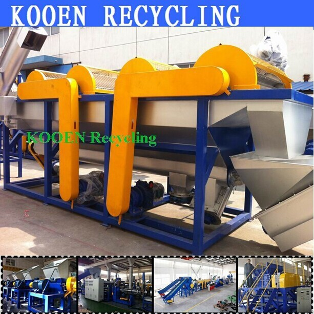 scrap eps recycling system with new technology