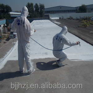 Sprayed polymer cement waterproof coating