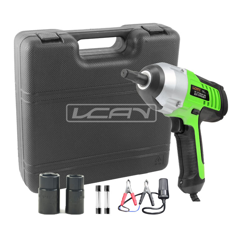 12V DC Electric Impact Wrench& Nut Runner Power Tool