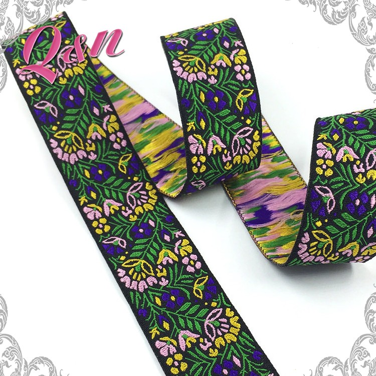 China manufacturers textile Woven jacquard ribbon for dog collar