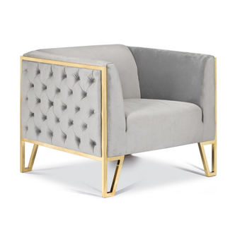 Living Room Sofa Gold Stainless Steel Leg Sex Sofa Accent Chair For Home Hotel View Modern Single Seater Lounge Fabric Sofa Chair Mr Product Details From Shenzhen Mr Furniture Decor Co