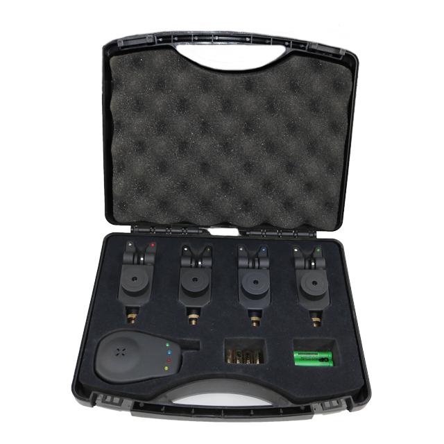 Küçük Kompakt Düşük Fiyat stok balık avı oltaya vurma alarmı CE Sertifikası ile Set