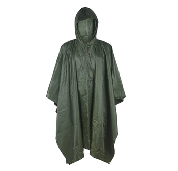 4326a73e82 Army green nylon ain Poncho Waterproof Camouflage Rain Coat Outdoor Camo  Shelter Ground Sheet rain wear