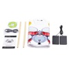 New Design Electric Drum Kit USB MIDI Roll Up Drum Kit Portable Drum Set with 9 Pads 2 Pedals