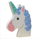 New wooden LED lamp Unicorn home children room decoration night light photography props student wall hanging