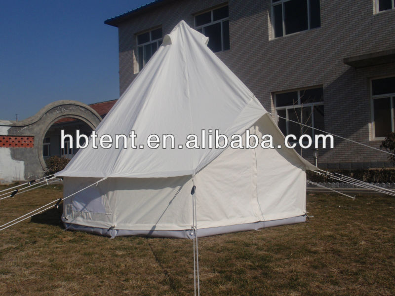 Bell Tent Dia 4m Cotton Canvas