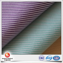 yarn dyed polyester cotton striped oxford fabric for boy shirts