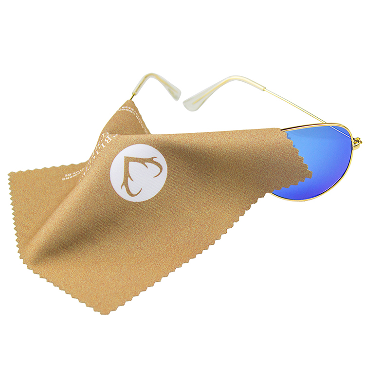 Custom print microfiber lens cloth/eyeglass cloth/sunglasses cleaning cloth