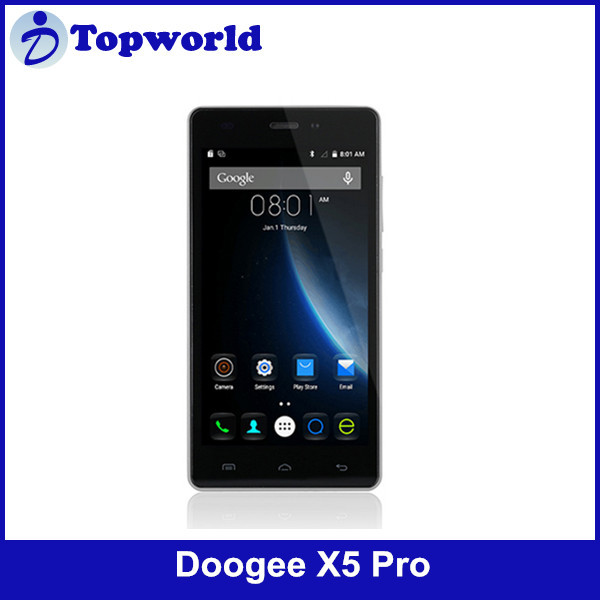 Factory Price 5.0 inch IPS 720p 5.0MP Camera Android 5.1 MTK6735 64bit 4G 2GB RAM 16GB ROM DOOGEE X5 Pro Cell phone