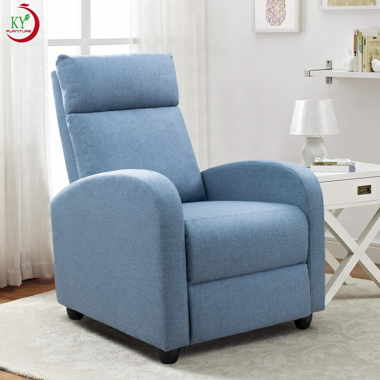 JKY-muebles de tela ajustables con cojín de asiento grueso y respaldo, sofá de movimiento para sala de estar