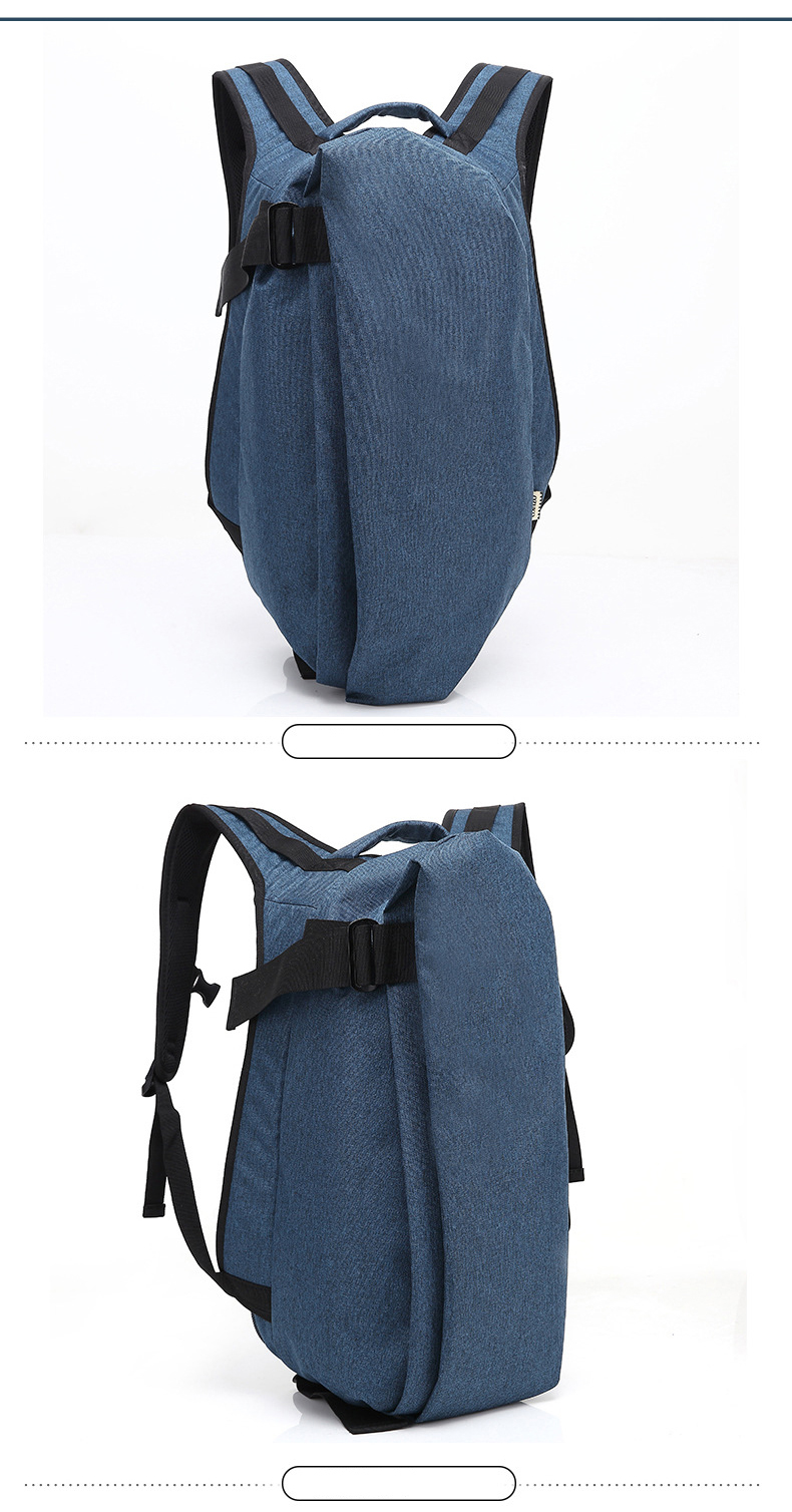 High quality European design simple latest waterproof knapsack bagpack rucksack college bags USB backpack for men