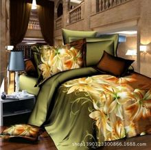 Printed Contemporary Cotton Bedding Set/Bed Sheet