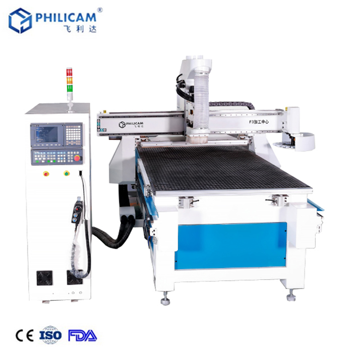 Philicam 1300*2500mm automatic cnc wood router machine 1325 price
