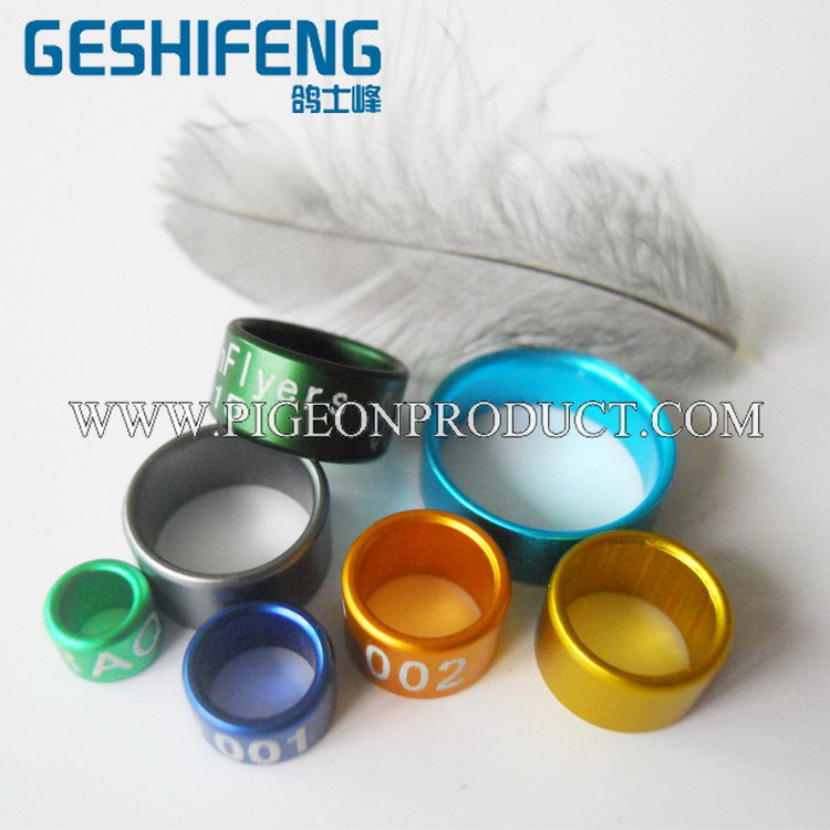2018 All Sizes All Colors Canary Aluminium Birds Rings Pigeon Bands Poultry  Leg Band From China - Buy Bird Leg Bands,Canary Lovebird,Bird Tags Product
