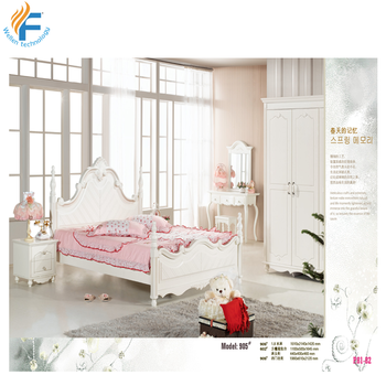 Korean Style Antique White Furniture Wm905