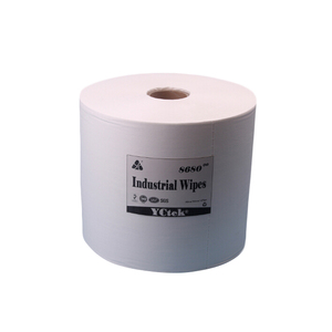 Low lint non woven fabric industrial wiping wipers