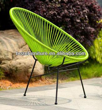 Garden Furniture Round Rattan Chair, Outdoor Chair, Acapulco Chair