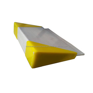 Plastic slats fiberglass beams poultry farming equipment, frp triangle support beam for poultry farm