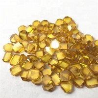 large yellow 5mm laser cutting rough industrial diamond price