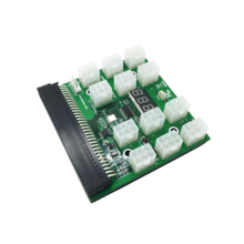 Meitk Mijnbouw Breakout Board 6Pin Breakout Board Adapter voor 1200 w Voeding ZEC Server Power Ethereum