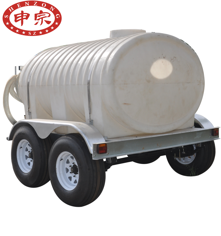 Water Tank Trailer With Hot Dip Galvanized Chassis Trailer