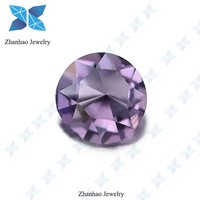 chaming good quality facet light purple synthetic diamonds