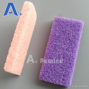 Disposable Manicure Pedicure Pumice Sponge Blocks For Nail Salon