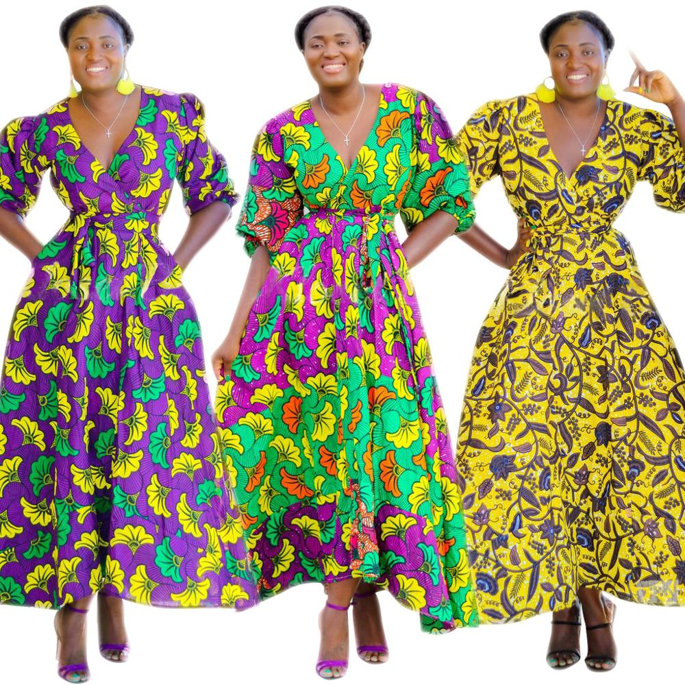 Alibaba.com / Women ethnic clothing african kitenge dress designs