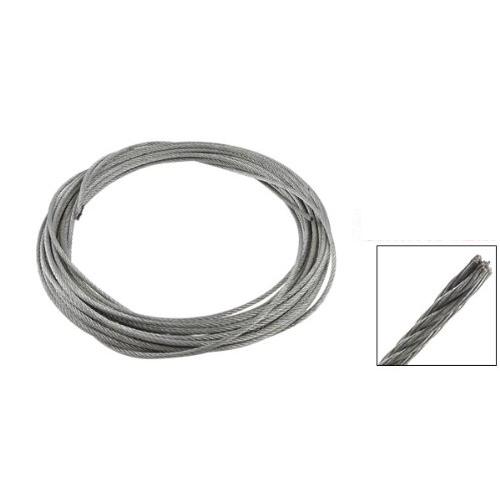 Продвижение! 3 мм диаметр нержавеющей стали трос кабель 12 м длина