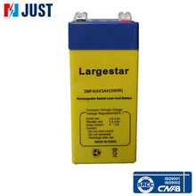 4v 3ah rechargeable sealed lead acid battery for high performance