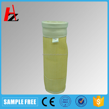 Acrylic filter bag fabrication seaming filter