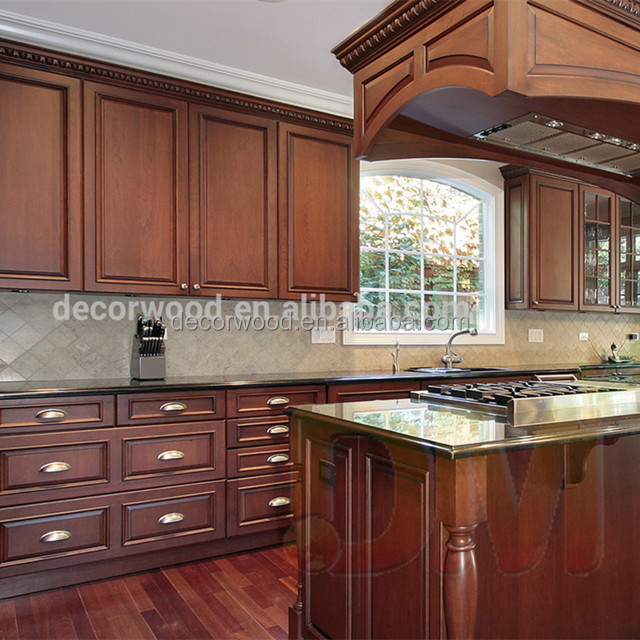 Classical Kitchen Cabinets Set Raised Panel Door Kitchen Cabinets - Buy  Classical Kitchen Cabinets Set,Used Kitchen Cabinets Sale,Solid Wood Door  ...
