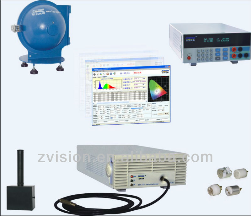 PHOTOMETRIC COLORIMETRIC AND ELECTRIC TEST SYSTEM