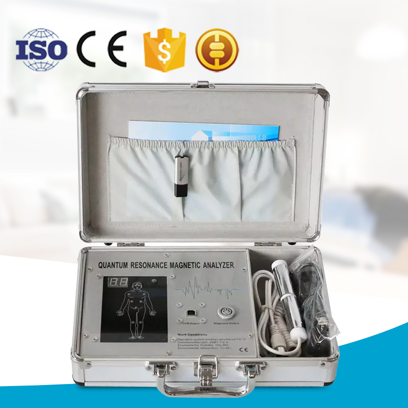 Professional portable quantum magnetic resaonance body analyzer price/quantum therapy analyzer for sale