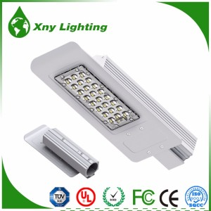 IP65 AC DC public lighting slim led street light 30w