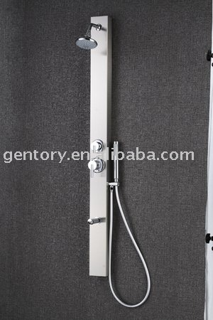 Sanitary ware product -CE,ACS,cUPC approved Stainless Steel hotel shower panel Panel - S019 ( For Hotels )