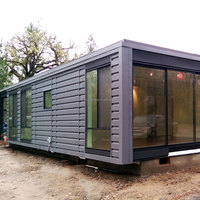 2016 the latest design luxury 40ft prefab container homes for sale