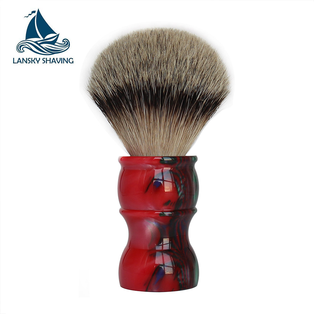 Mens 1st grade badger shaving brush for Barber Gift Shave Tool