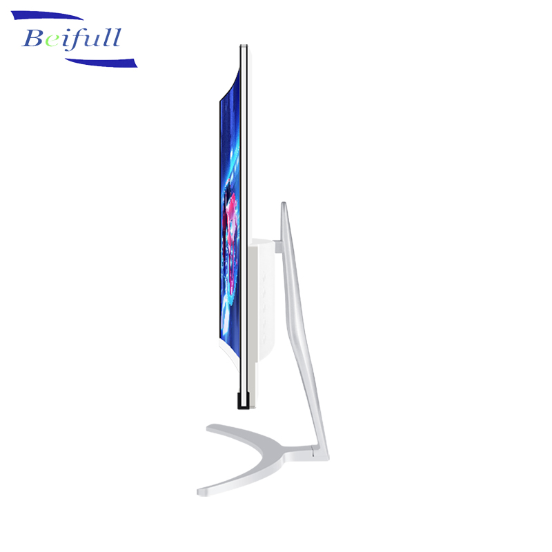 2018 New Ultra Thin Full HD 1K 24 inch IPS Panel LED Curved Frameless computer Monitor
