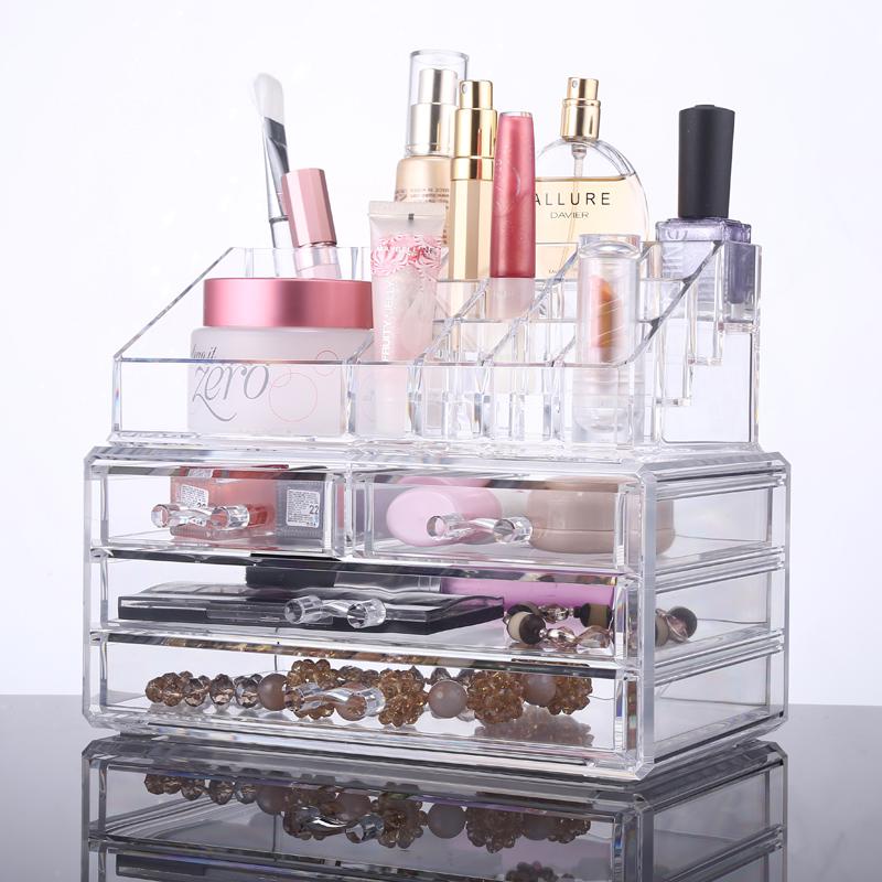 Acrylic Makeup Organizer Acrylic Makeup Organizer Suppliers And Manufacturers At Alibaba Com