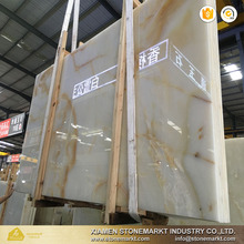 Natural stone Polished white onyx slabs