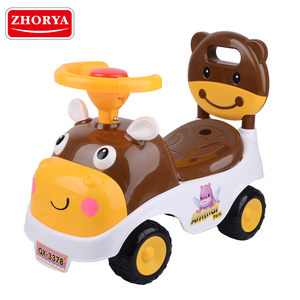 Zhorya Wholesale sliding pedal car plastic cheap baby toy cars ride