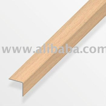 Stair Nosing/Nose/Step Edge   Wood Effect,Self Adhesive For Laminate,