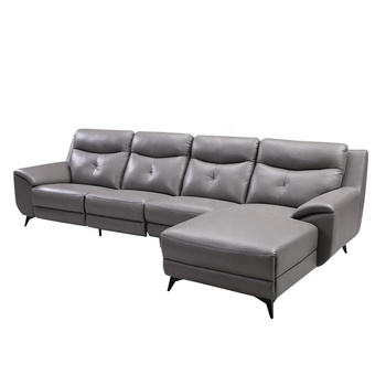 Furniture Electric Leather L Shape Sofa