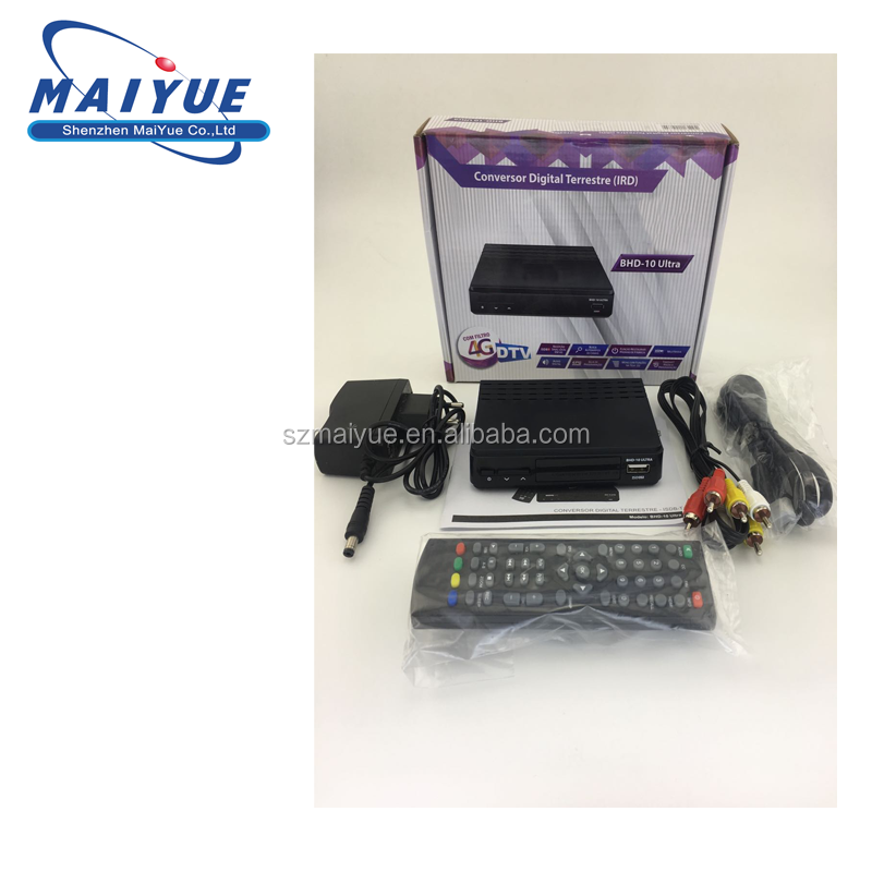 Factory price Mstar 7805 ISDB-T Digital TV Receiver support 1080P HD MPEG4 h.264 TV receiver