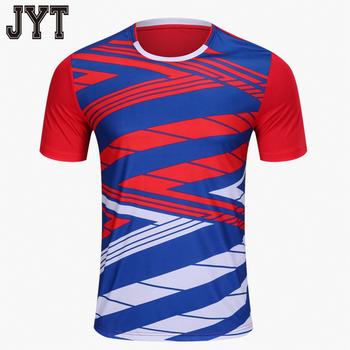 2018 new design 100% polyester custom soccer uniform jersey 55b021667