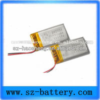 Small for keyboard pen 3.7V 150mAh lipo battery