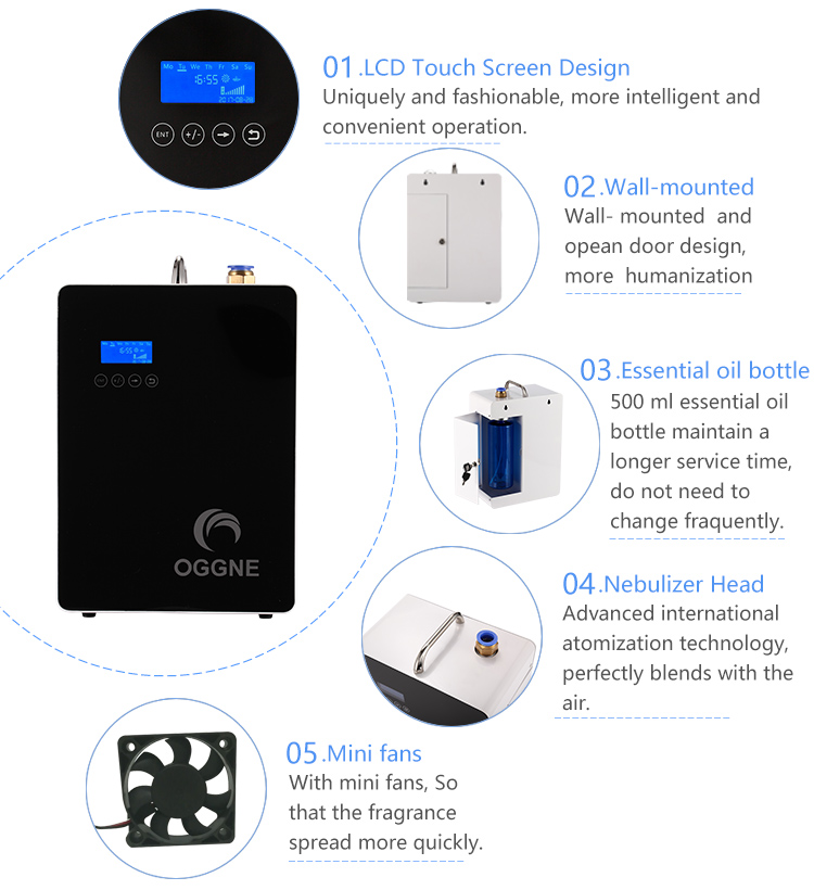 High Quality HVAC Scent Delivery System advanced cold diffusering technology electric scent air machine