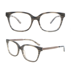 SRA012 women acetate square optical glasses eyeglasses eyewear frames