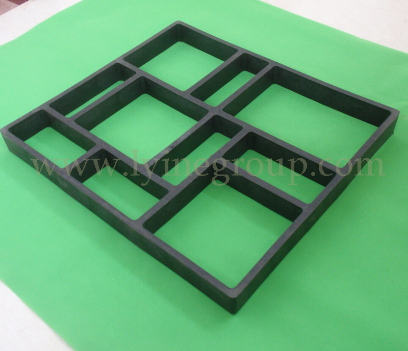 Recycled Rubber Sidewalk Paving Mould Pathway Patio Pavers/ Block DIY  Moulds For Garden